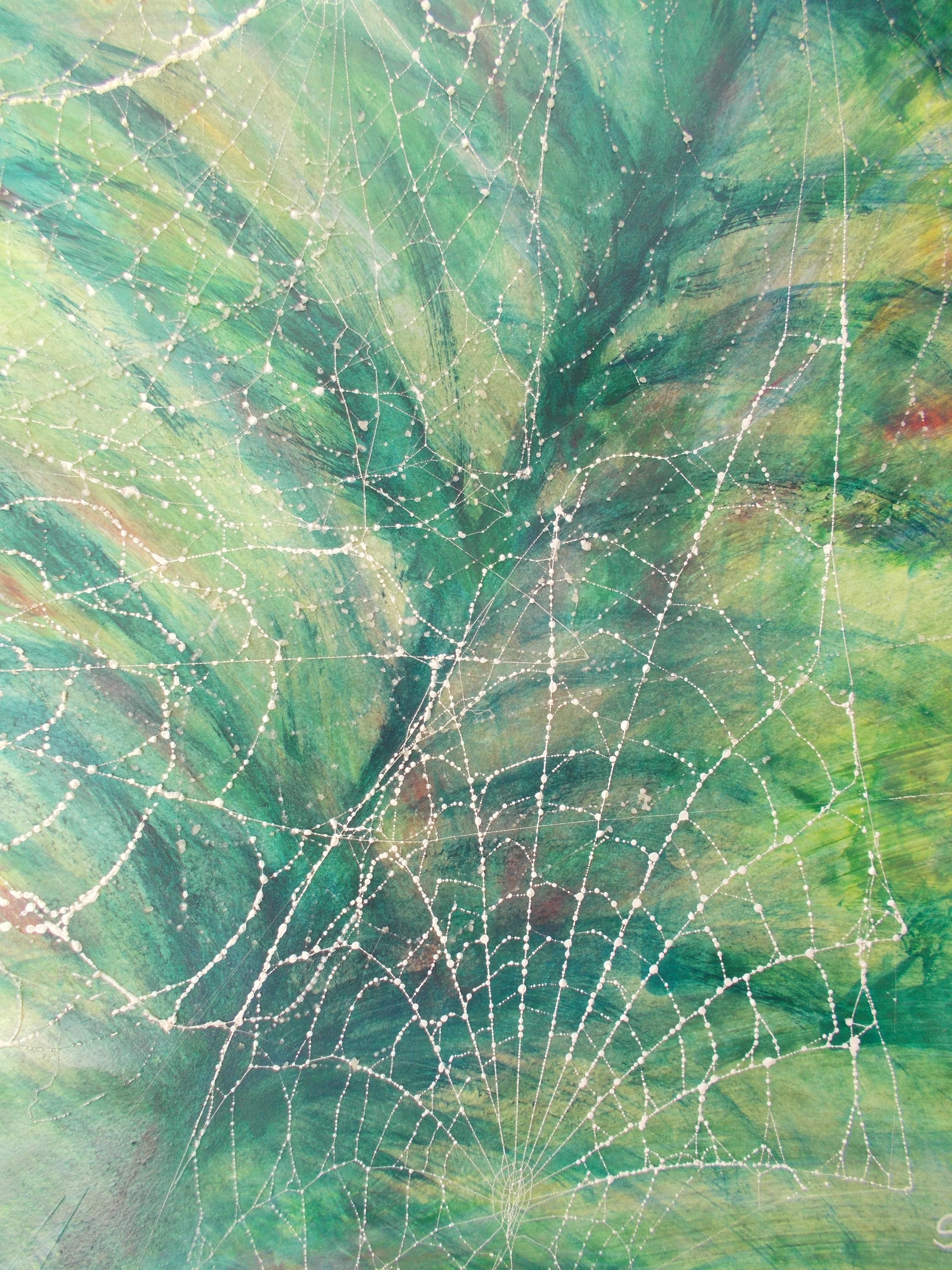 Hintergrund gemalt mit Netzz