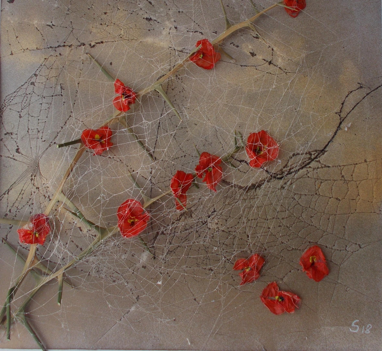 vernetzte Blumen 50*50