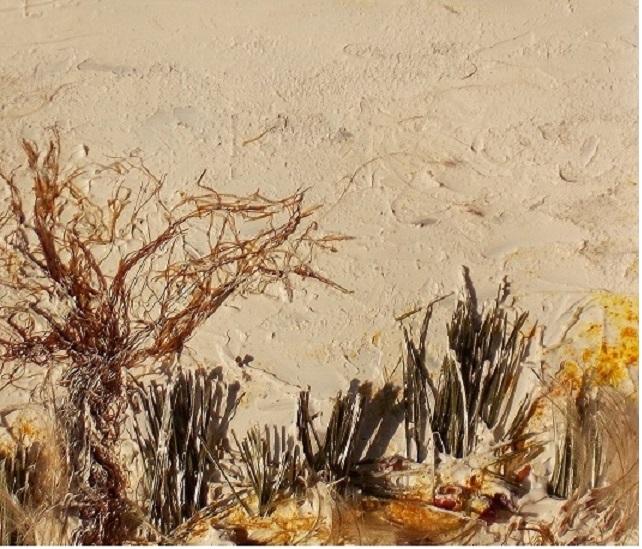 Maisfäden, Kiefernnadeln